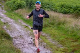 Record-breaking runner races coast to coast in under a day