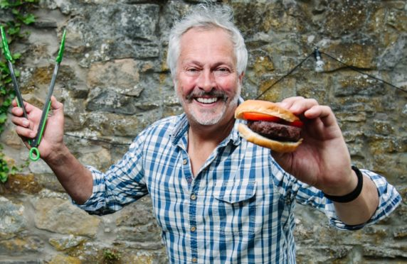 Nick Nairn cooks up another treat on his barbecue at home in Bridge of Allan