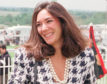 Ghislaine Maxwell pictured arriving at Epsom races in 1991