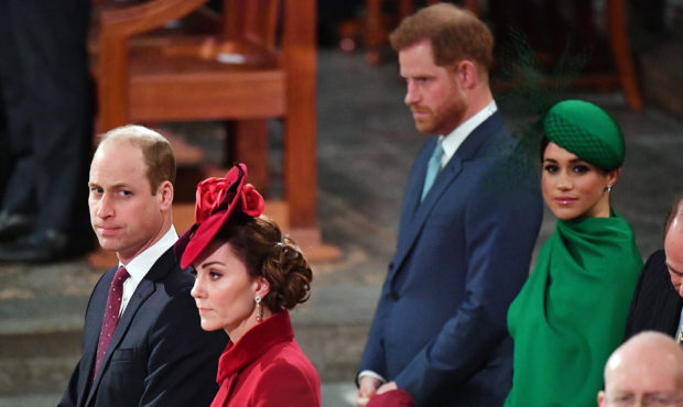 Commonwealth service: The Sussexes and Cambridges barely spoken says book