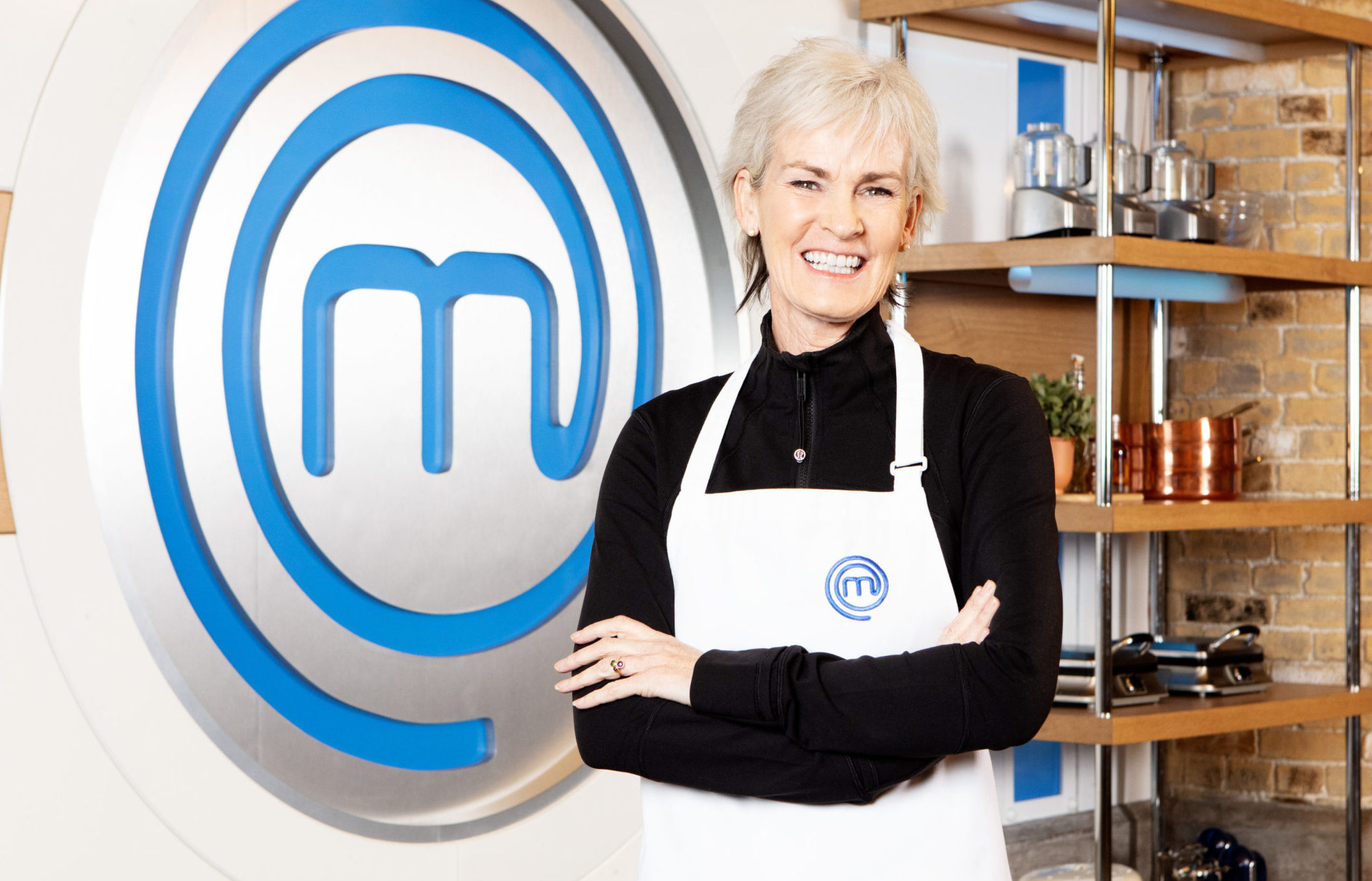 Judy Murray in the MasterChef kitchen