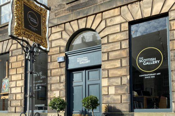 The Scottish Gallery , Edinburgh