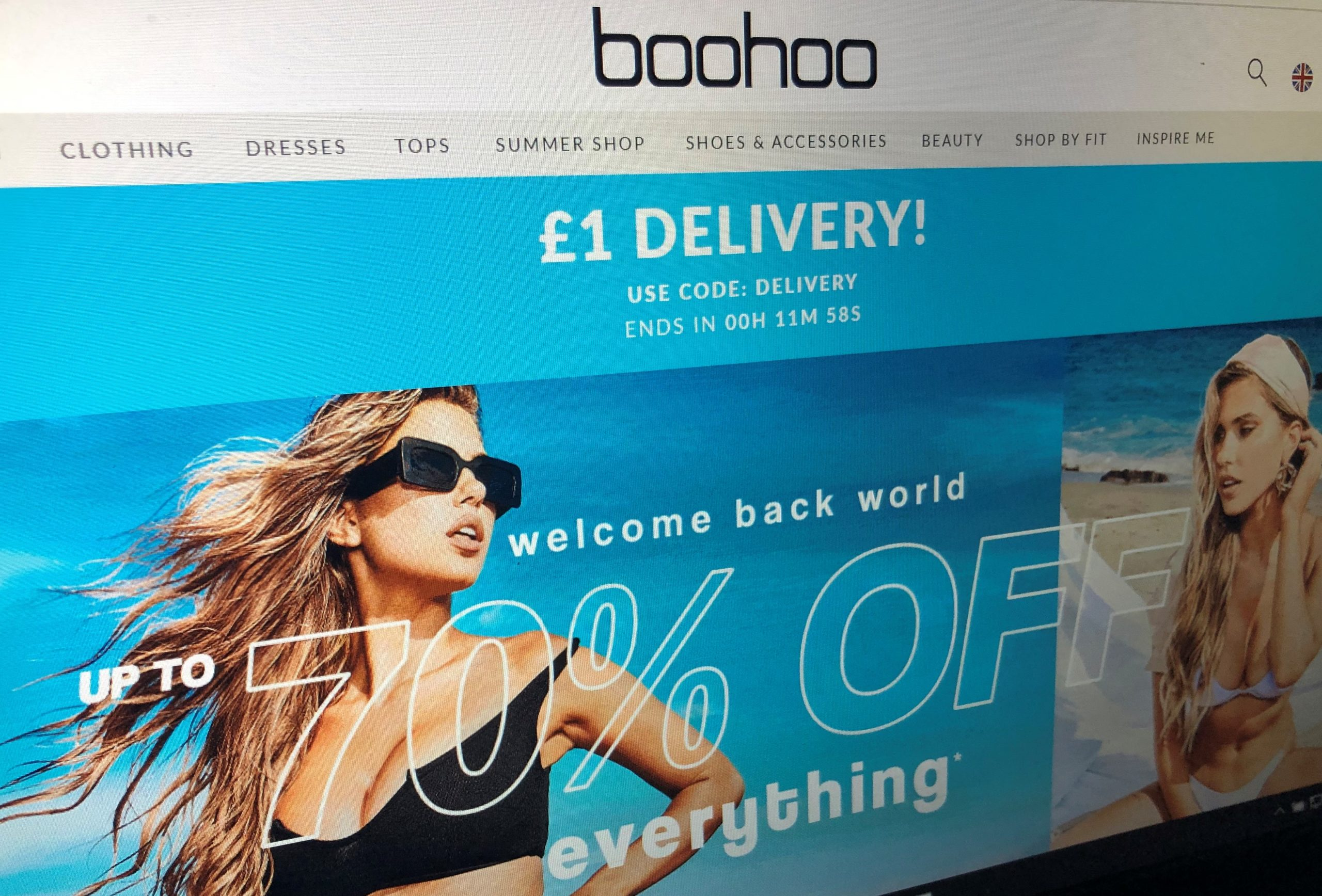 Fashion firm Boohoo  is at centre of scandal