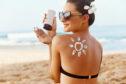 Apply the correct sun cream before hitting the beach
