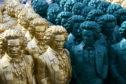 Beethoven sculptures by artist Ottmar Hoerl in Bonn, Germany