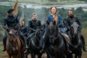 Actor Saoirse Ronan as Mary Queen of Scots in 2018 movie