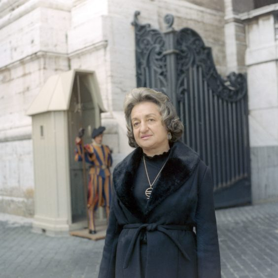 Pictured in 1973, she co-founded the National Organisation for Women, which organised protests for equality.