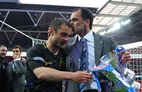 Shaun Maloney won the FA Cup with Wigan under Roberto Martinez