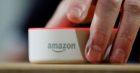 An Amazon Echo Dot