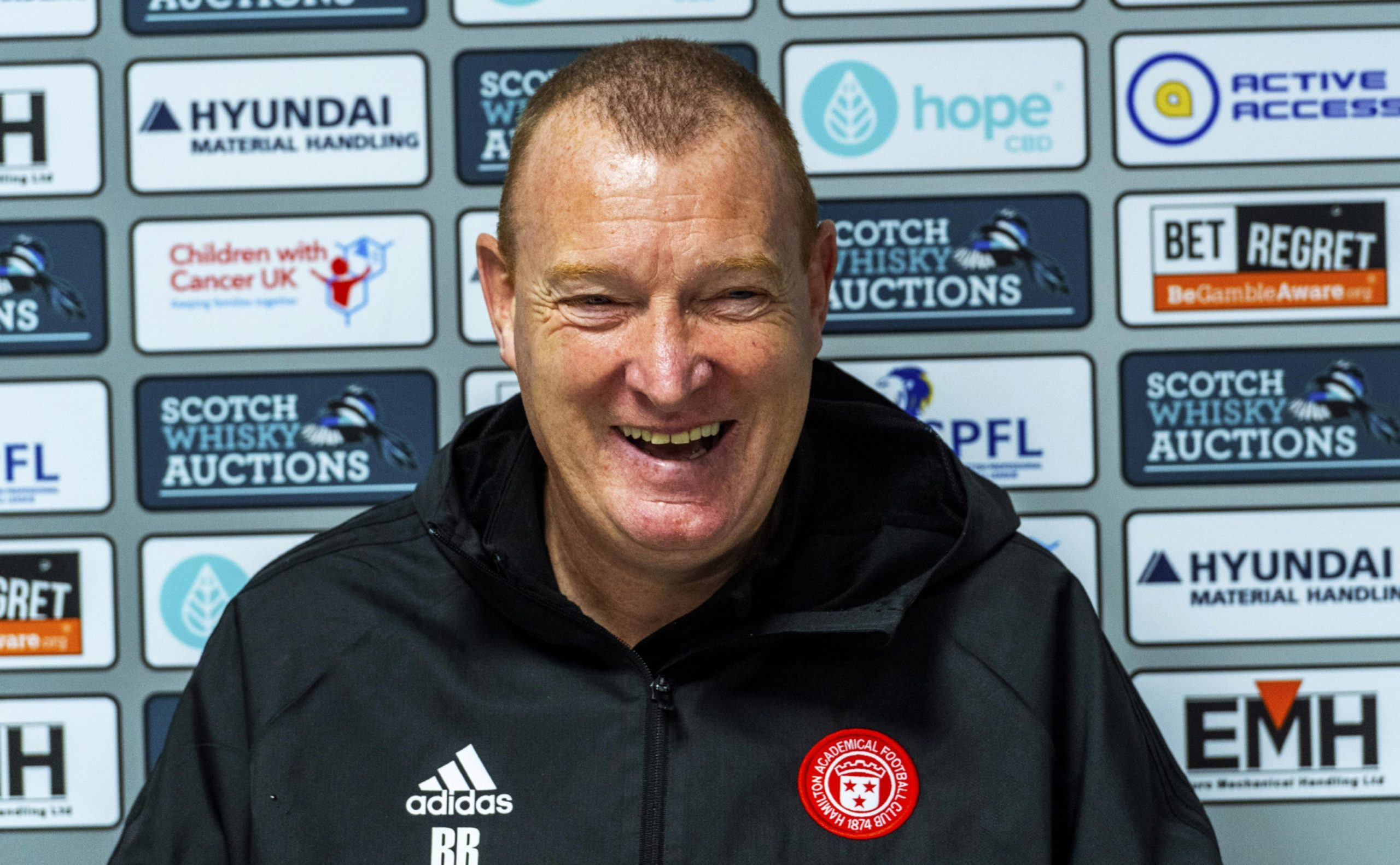 Hamilton Manager Brian Rice