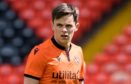 Lawrence Shankland in action for Dundee United