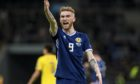 Oli McBurnie shows his passion for playing with Scotland