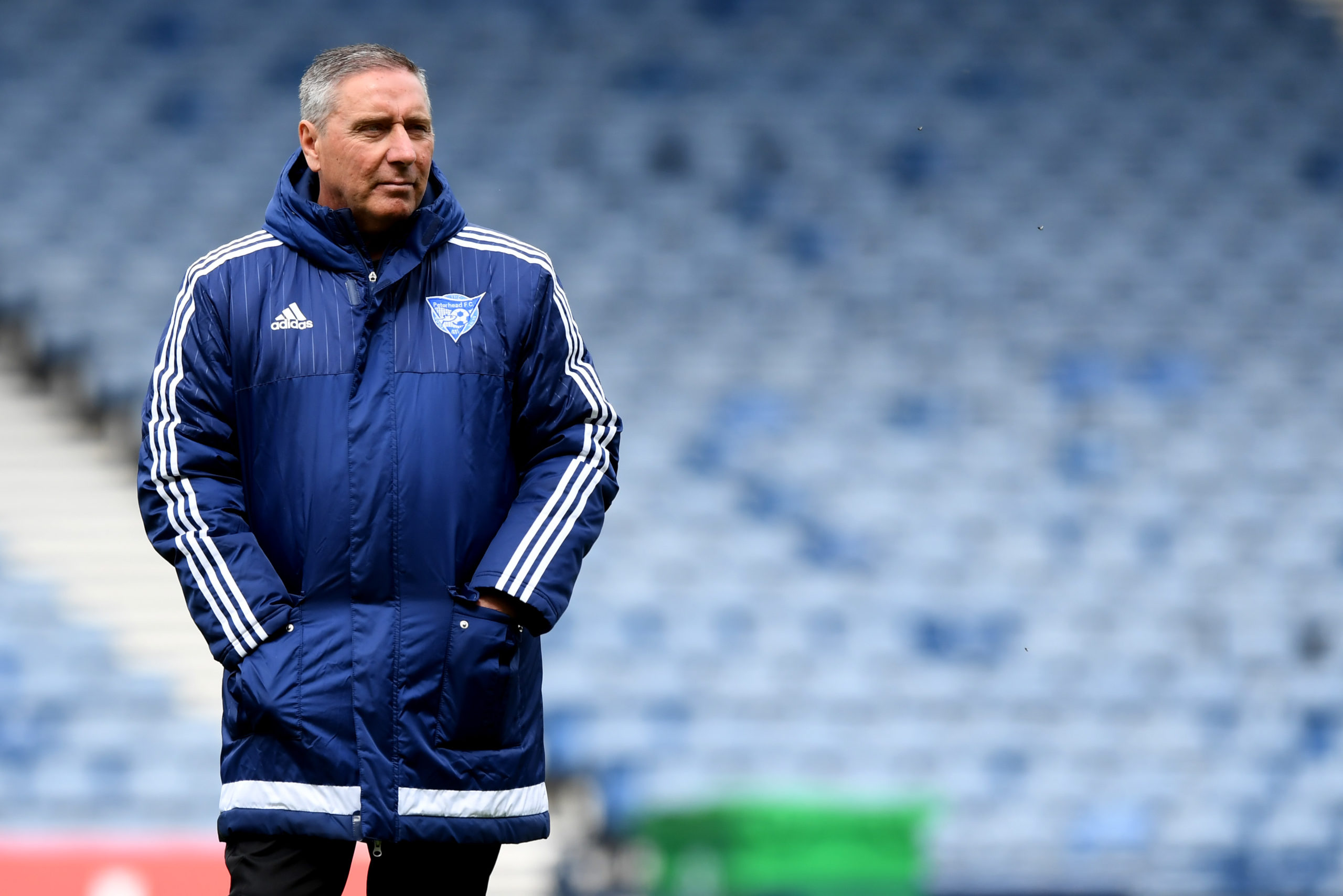 Jim McInally has been in charge of Peterhead for almost nine years