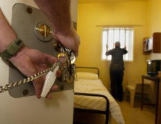 Prison staff 'not always following social distancing guidelines'