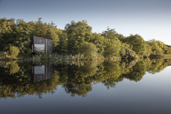 The forest spa at Finn Lough