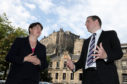 Ruth Davidson and Douglas Ross