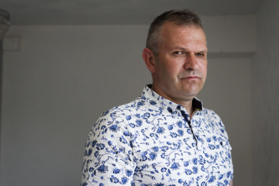 Piotr Chylewski lost an eye in the attack
