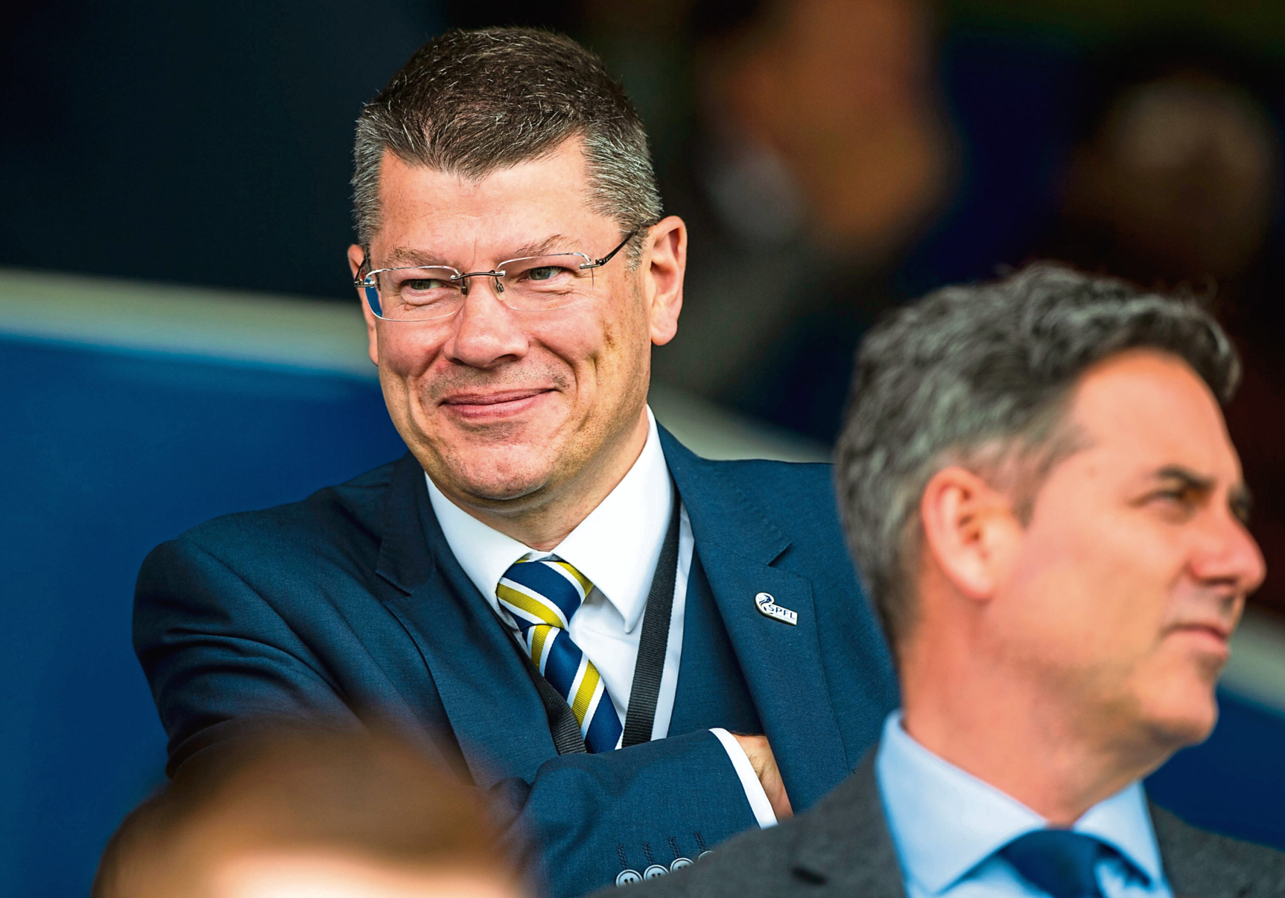 Neil Doncaster was accused of being smug after the SFA arbitration panel ruled in the SPFL's favour