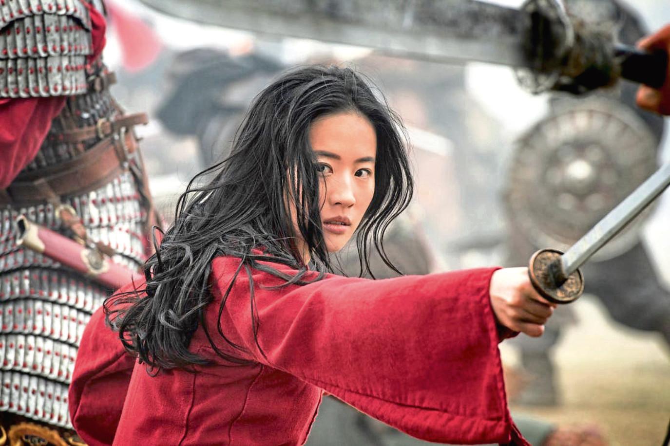 Yifei Liu stars in Disney's live action remake of Mulan.