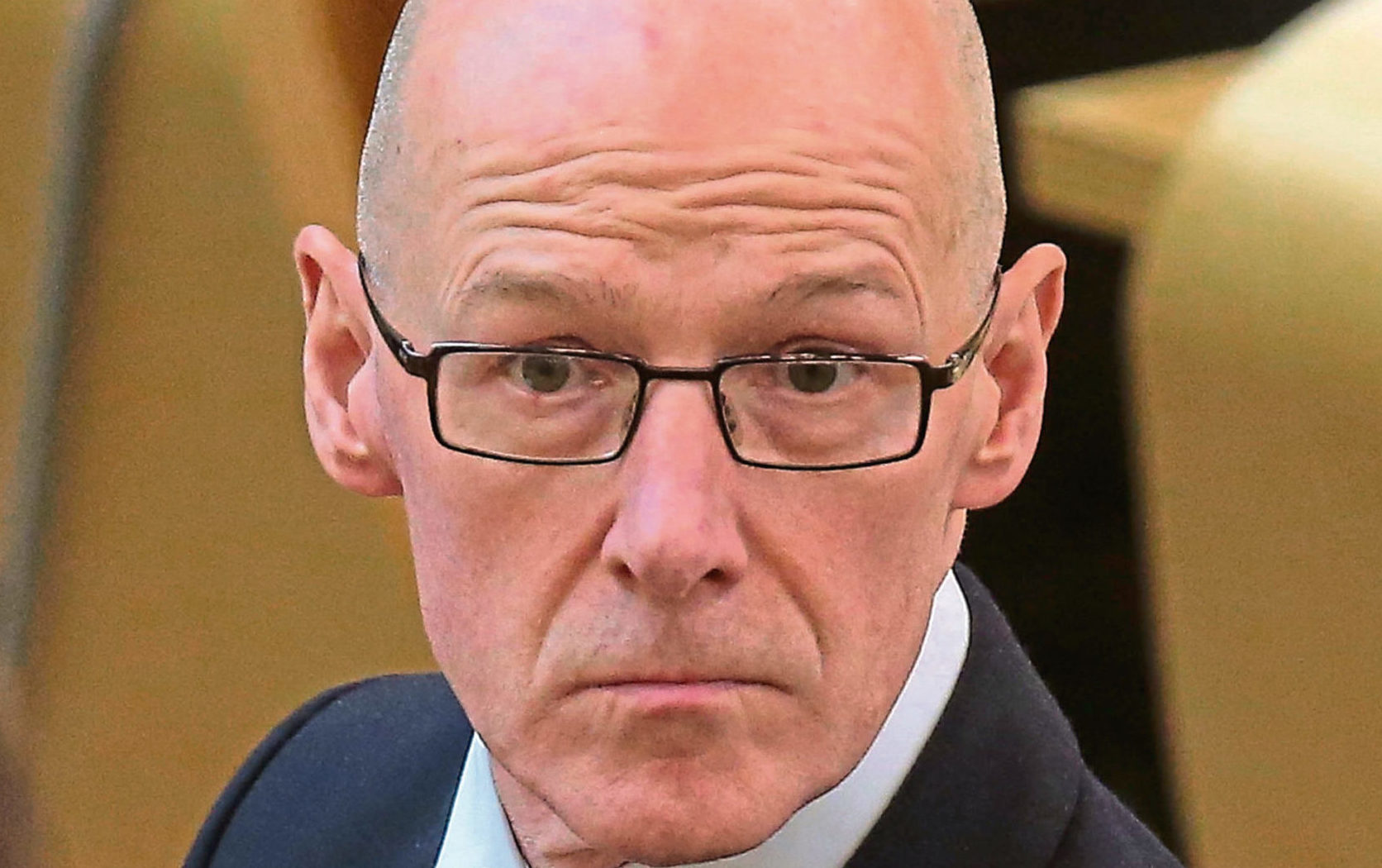 John Swinney MSP Deputy First Minister and Education Secretary during Topical Questions