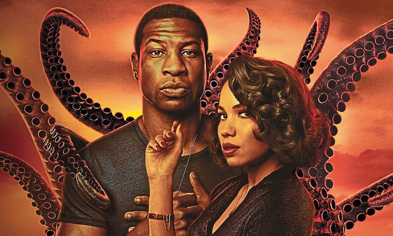 Jonathan Majors and Jurnee Smollett-Bell in classy Lovecraft Country