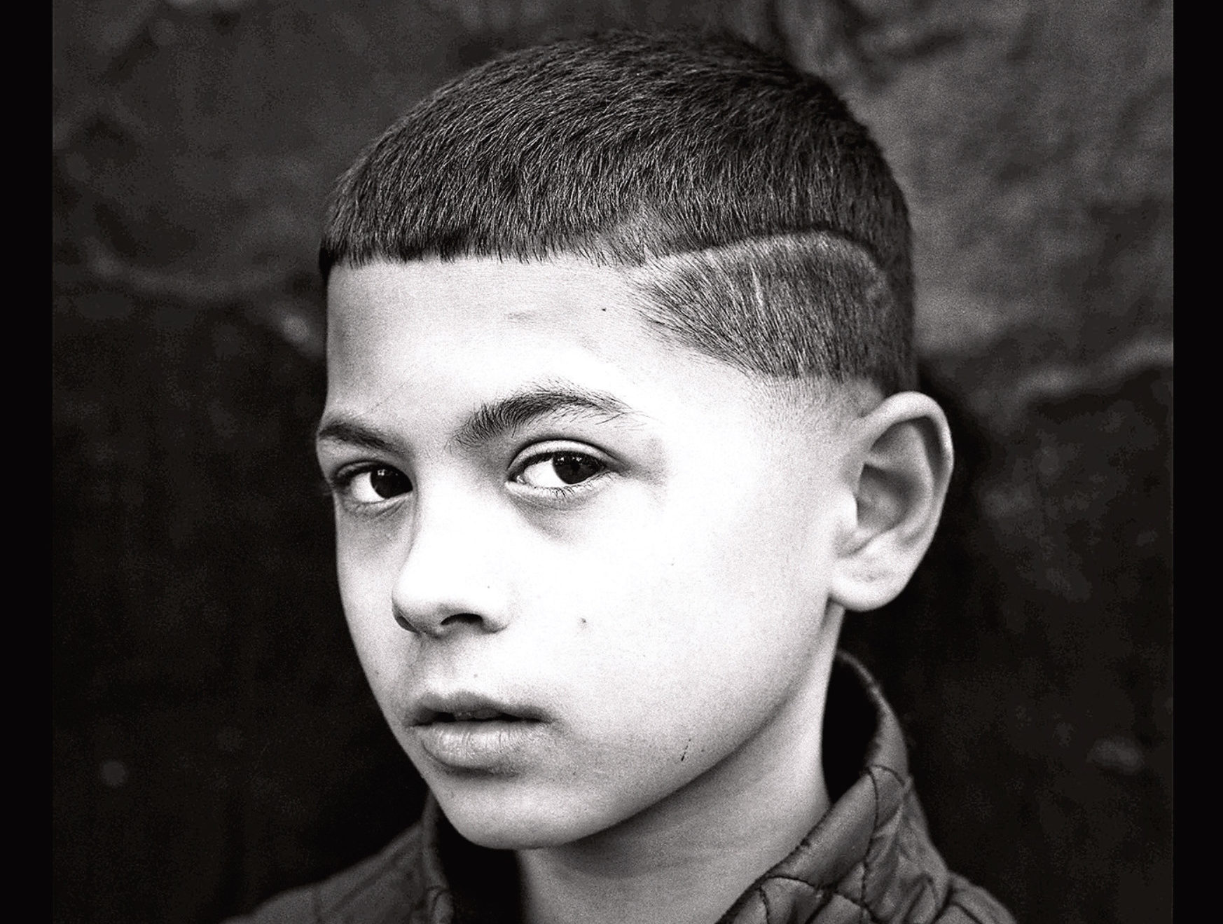 """Emil, part of the """"Govanhill street level"""" exhibition by photographer Simon Murphy"""