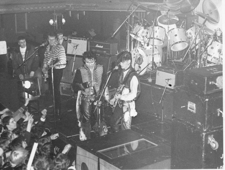 Adam and the Ants, Glasgow's Tiffany's, 1980. c. @crumbstick