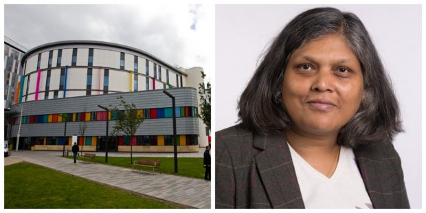 The Royal Hospital for Sick Children and Professor Divya Jindal-Snape