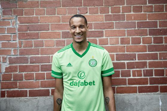 Jullien, in the new Celtic change strip was a big fan of Fraser Forster
