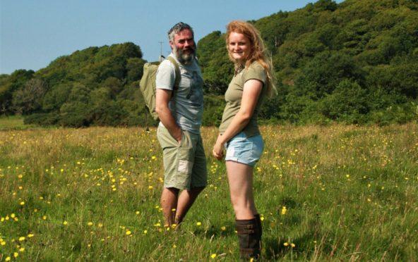 Morvern Community Woodland's Alasdair Firth and Vaila Kennedy