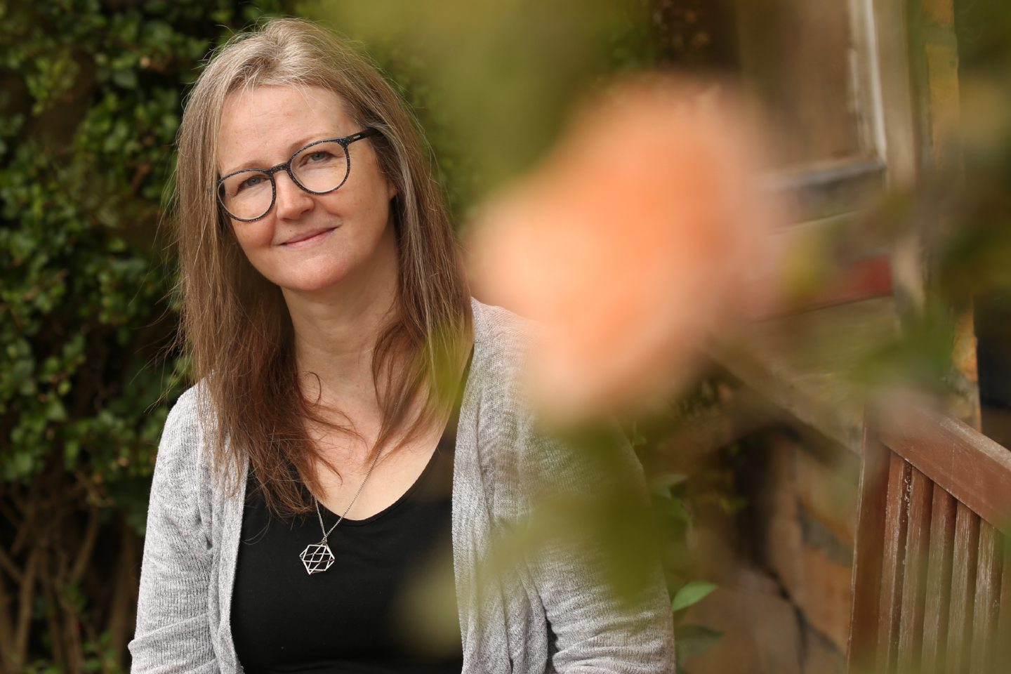 Long Covid Support Group's Lesley McNiven at home in Edinburgh
