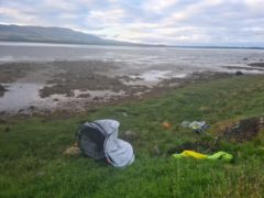 Action urged as rogue campers use Scots wilds as a dustbin