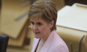 Nicola Sturgeon highlights hopes for vaccination to start before Christmas as she outlines review on Scotland's coronavirus lockdown levels