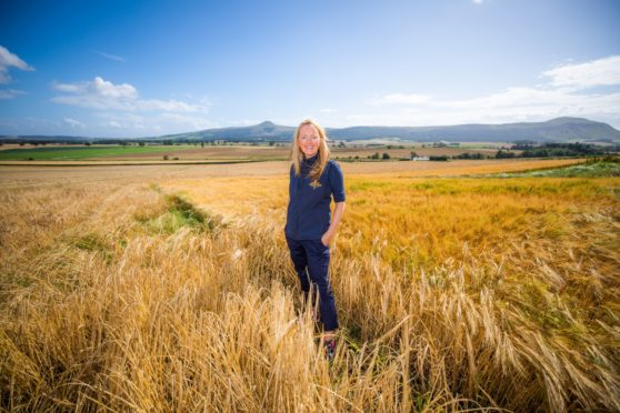 Alison Milne of Crafty Maltsters on her Auchtermuchty farm