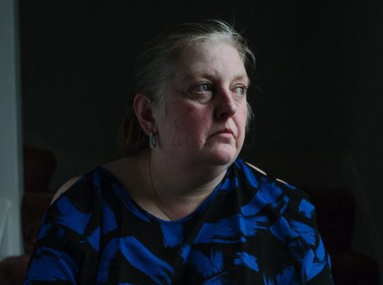 Sharon MacFadyen, the aunt of Allan Marshall, who died as a result of prison guards restraint in Saughton Prison.