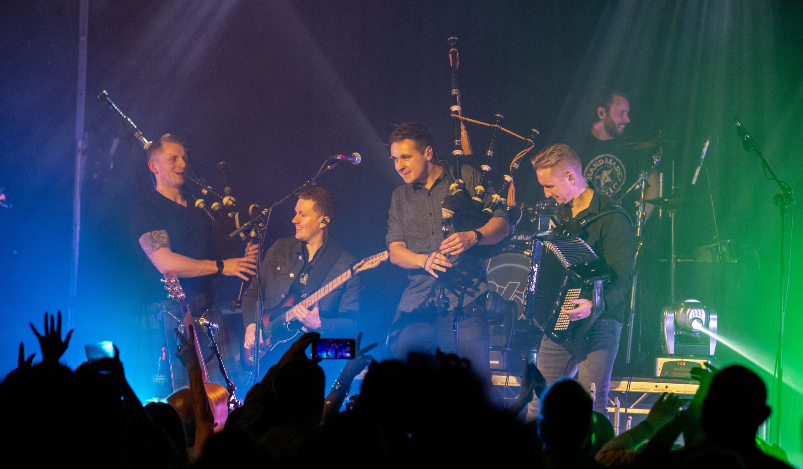 Skerryvore on stage