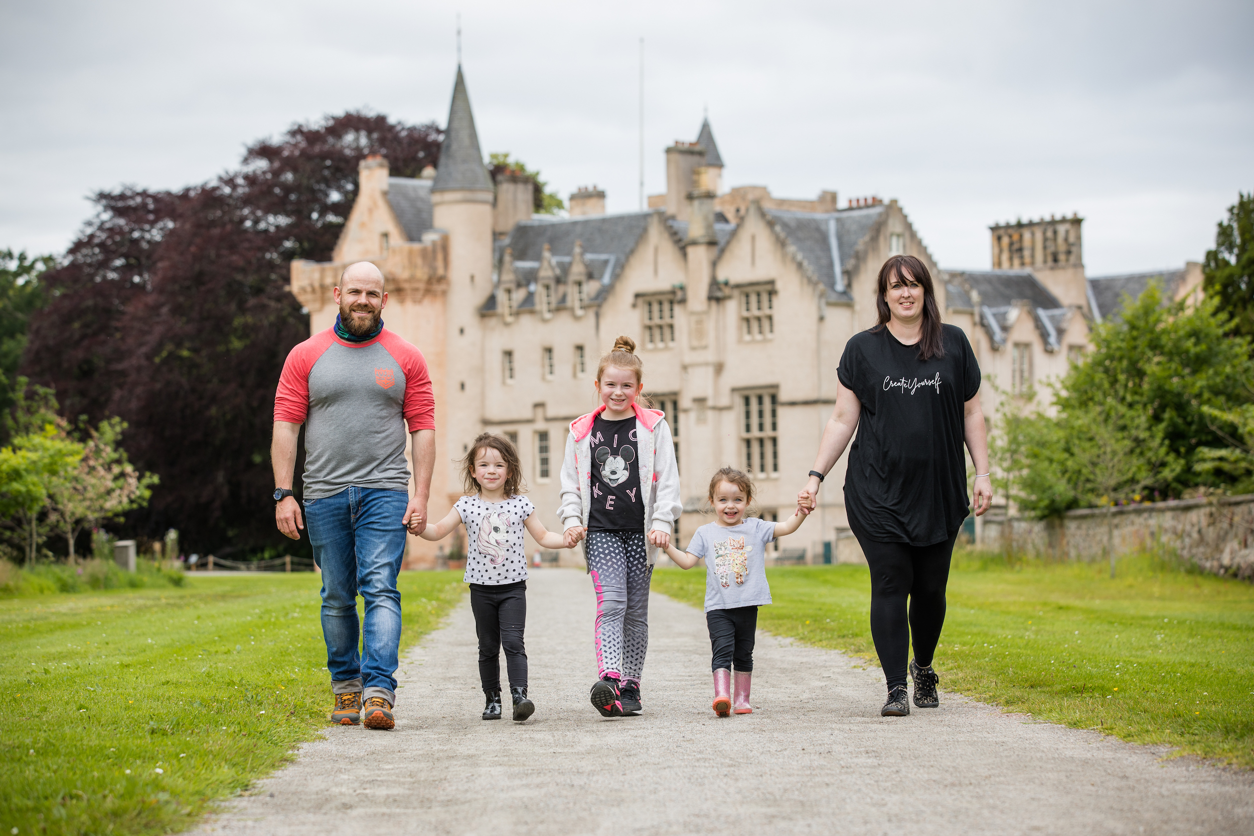 Brodie Castle gardens re-open to the public.