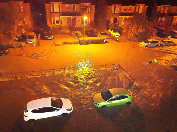Flooding in Perth