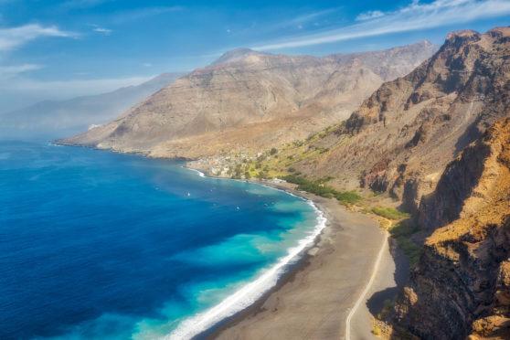 Santo Antão, the westernmost island of Cape Verde