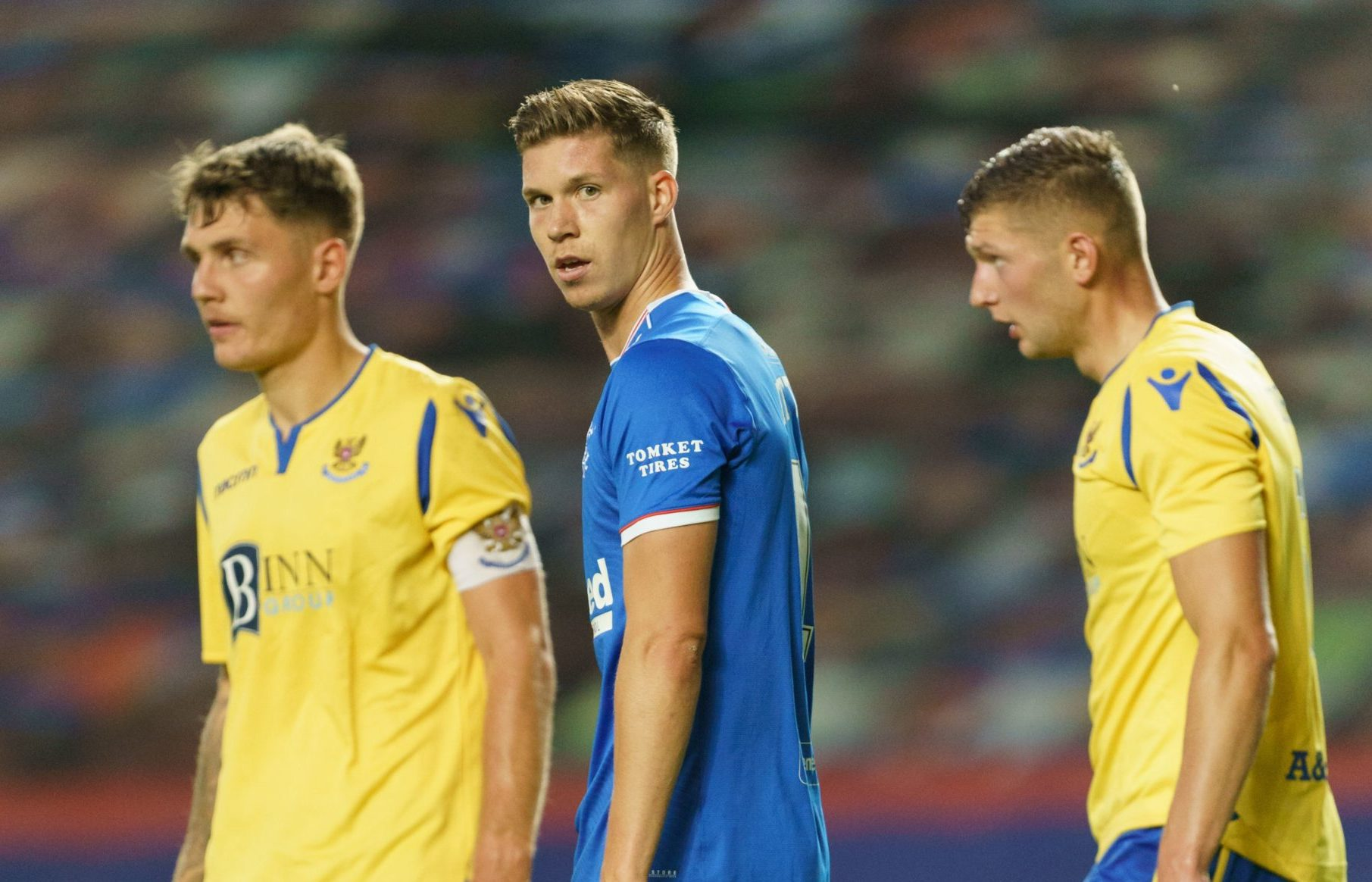 Cedric Itten was a sub against St Johnstone in midweek and Arthur Numan expects big things from him