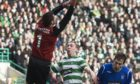 Allan McGregor and Scott Brown are veterans of Old Firm encounters, like this one in February 2009, which ended goalless at Celtic Park