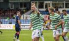 Celtic's Shane Duffy celebrates a debut goal