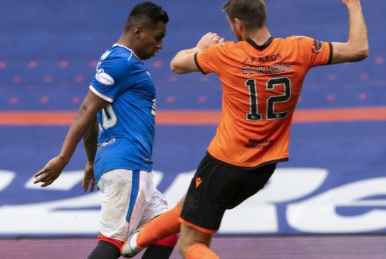 Ryan Edwards' high tackle on Alfredo Morelos went unpunished but has led to Steven Gerrard being cited by the SFA