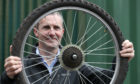 Transport Secretary Michael Matheson at the launch of the Scotland Cycle Repair Scheme