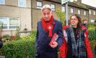 Scottish Labour Leader, Richard Leonard on the campaign trail.