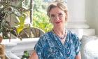 Jane Horrocks as eccentric Sylvia Blackett in The Singapore Grip