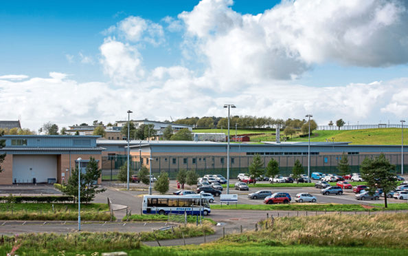 Carstairs State Hospital in South Lanarkshire, where a second ward is planned for patients with intellectual disabilities