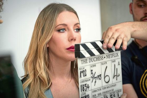 Katherine Ryan in The Duchess.