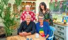 Paul, Matt, Prue and Noel from The Great British Bake Off.