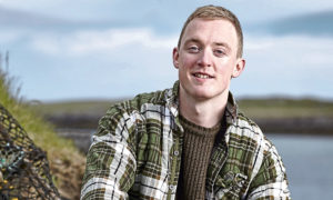 Douglas Stewart on his home island of North Uist.